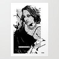 And The World Stood Stil… Art Print