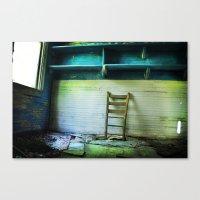 Abandoned Pt.1 Canvas Print