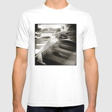 { afternoon boats } Mens Fitted Tee White SMALL