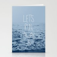 Let's Run Away: Ocean Stationery Cards