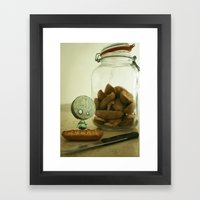 Brie Boy - Tim Burton Framed Art Print