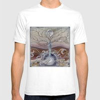 winter in the garden of eden Mens Fitted Tee White SMALL