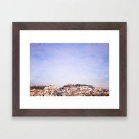 Lisbon On A Sunny Day Framed Art Print