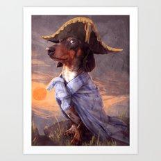 Little Napoleon Art Print