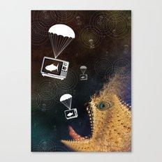 Media Control Canvas Print