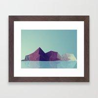 Landscape study 01. Framed Art Print