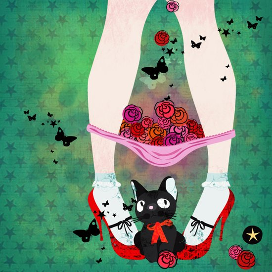 kitties cat Art Print