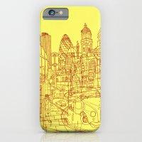 London! Yellow/Red iPhone 6 Slim Case