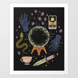Art Print - I See Your Future - LordofMasks