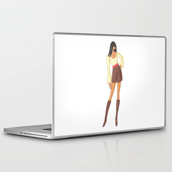 Hot Stuff Laptop & iPad Skin