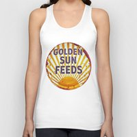 Golden Sun Feeds Unisex Tank Top