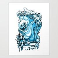 The Tempest - Miranda - William Shakespeare Art Art Print