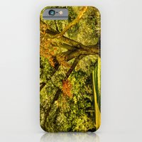 iPhone & iPod Case featuring When summer meet the fall.  by LudaNayvelt