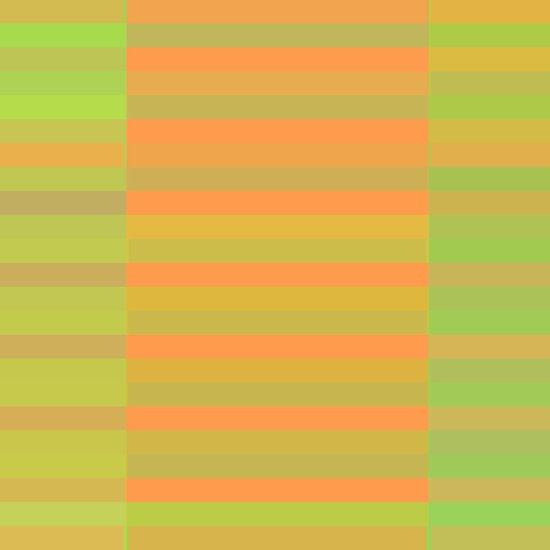 Peachy Stripes Art Print