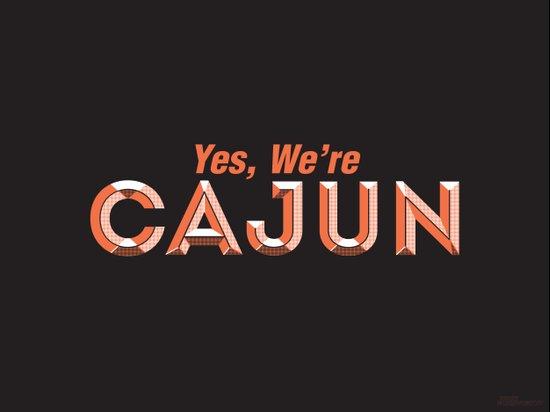 Yes, We're Cajun Canvas Print
