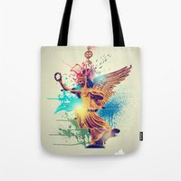 Siegessäule Abstract Tote Bag