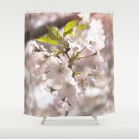 Tender Blossoms Shower Curtain
