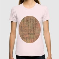 old page Womens Fitted Tee Light Pink SMALL