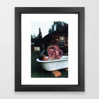 The Sausage King Of Chic… Framed Art Print