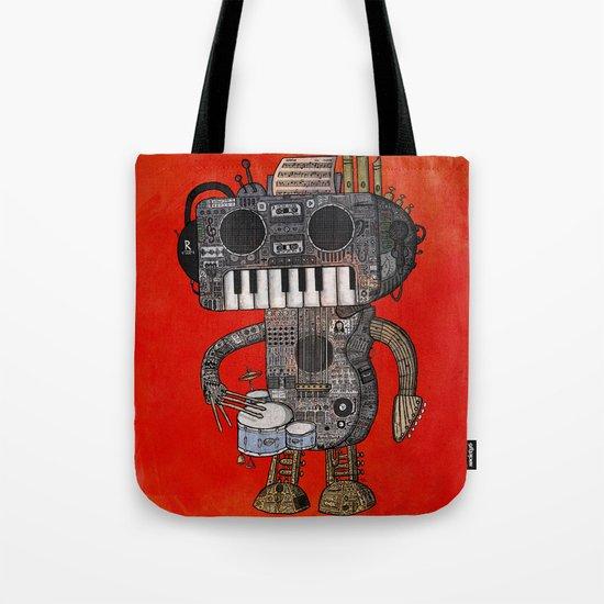 Musicbot Tote Bag