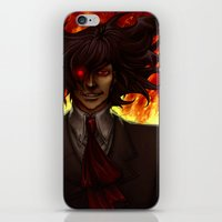 Hell Fire iPhone & iPod Skin