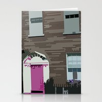 Pink Door Stationery Cards