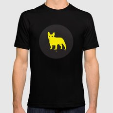Bulldog Black SMALL Mens Fitted Tee