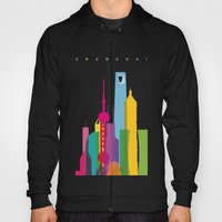 Shapes of Shanghai. Accurate to scale Hoody