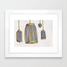 Birdcages #2 Framed Art Print