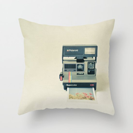 Instant Dreams Throw Pillow