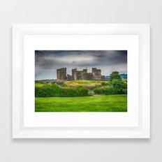 Caerphilly Castle East View 2 Framed Art Print