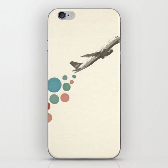 Leaving on a Jet Plane iPhone & iPod Skin