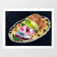 Gem Roast Art Print