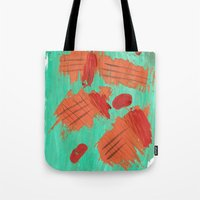 Traces on a grass... Tote Bag