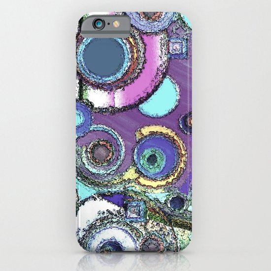 Concrete Circles iPhone & iPod Case