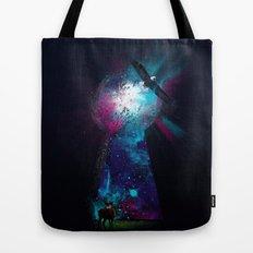 Keyhole Nebula Tote Bag