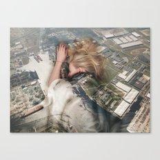 Sleep (T)height II Canvas Print