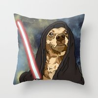Sith Bowser [FANDOG] Throw Pillow