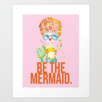 Pink Lemonade -- Be The … Art Print