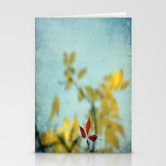 When Red meets Yellow Stationery Card