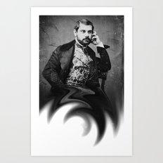 genius in ampulla Art Print