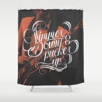 Simmer Down Shower Curtain