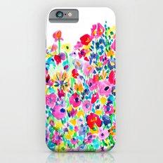 Flower Fields Pink iPhone 6 Slim Case