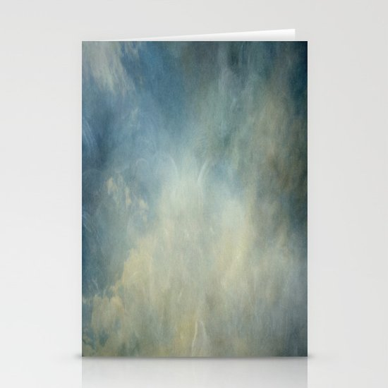 Drifting Clouds Stationery Card