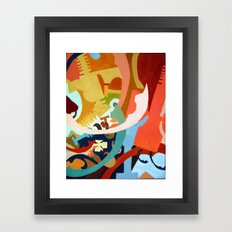 Untitled: Abstraction Framed Art Print