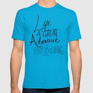 T-shirt featuring Great Adventure by Leah Flores