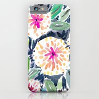 iPhone & iPod Case featuring Pop Floral by Barbarian | Barbra Ignatiev