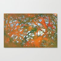 Tangled Fall Canvas Print