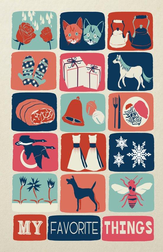 Favorite Things Art Print