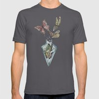 Butterfly Bottle  Mens Fitted Tee Asphalt SMALL